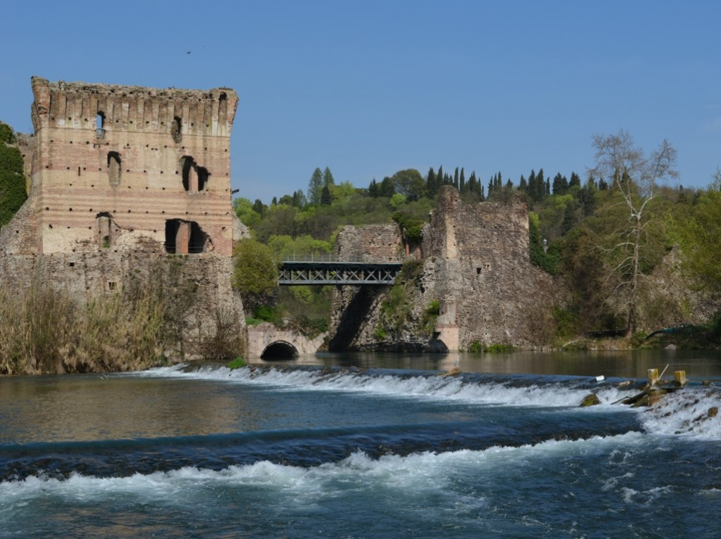 Borghetto is just stunningly beautiful. A small hamlet south of Lake Garda, it has lots of nice shops and restaurants. And waterfalls!