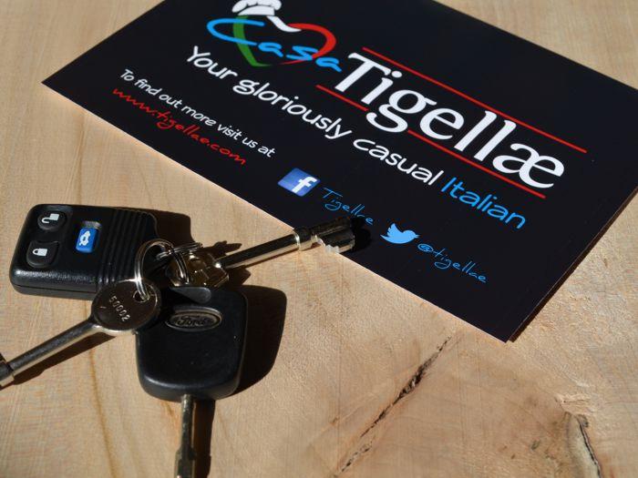 Casa Tigellae keys