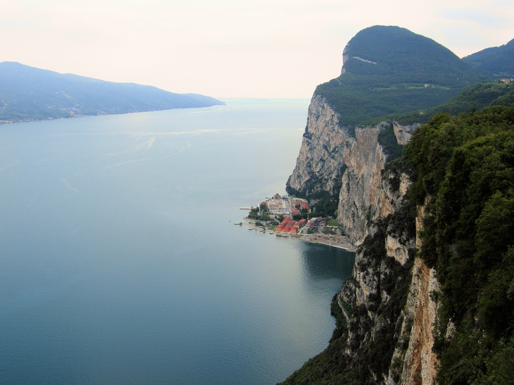 """After the road that Winston Churchill called """"the eighth wonder of the world"""" you'll arrive in Tremosine. Caves, hairpin bends and stone bridges lead to breathtaking views of Lake Garda."""