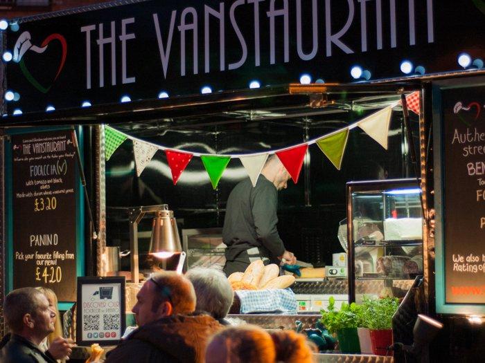 Urban Food Fest Vanstaurant