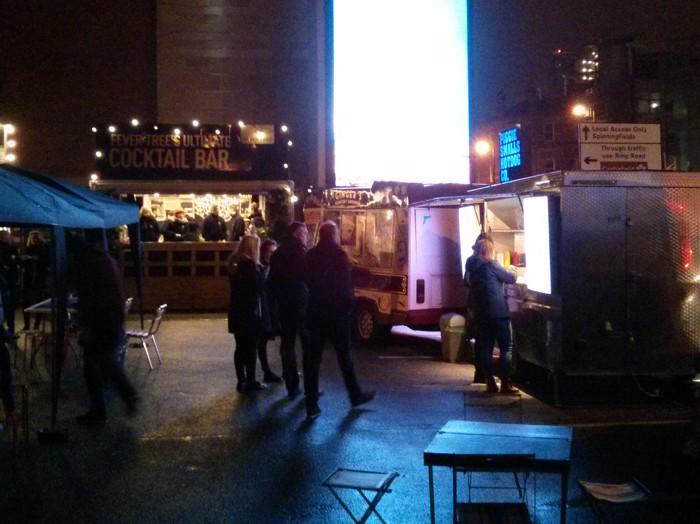 Urban Food Fest traders