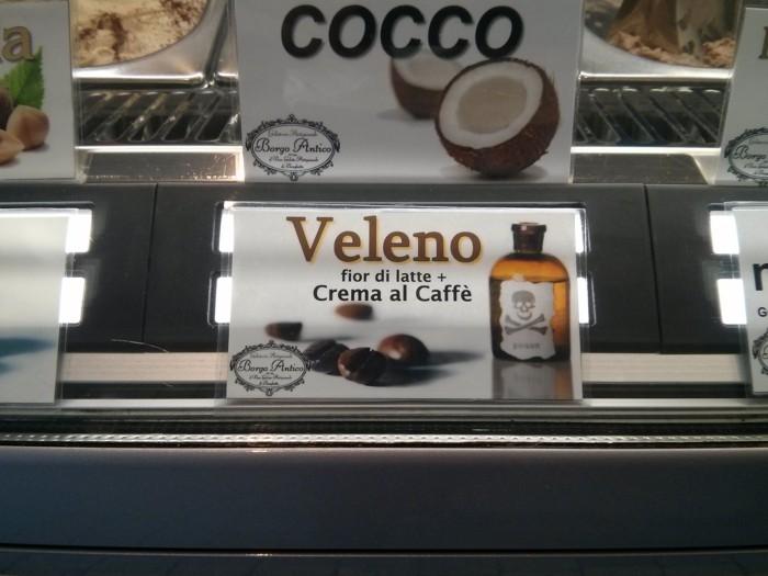 Veleno ice cream