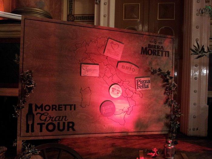 Tigellae sign Italia Moretti