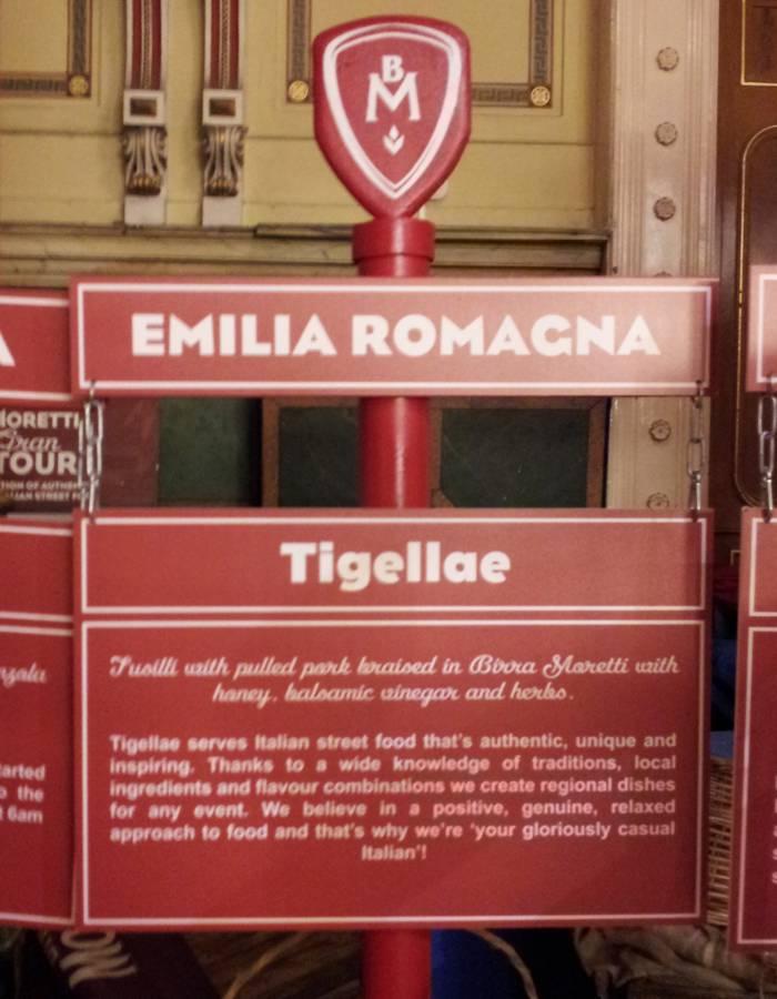 Tigellae sign Moretti