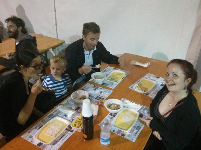 Festa uva Ilya, Milena, Victor, Laura