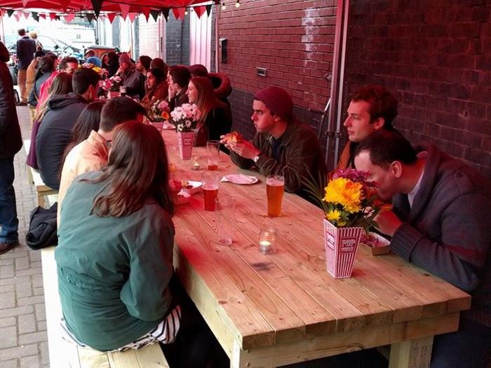 GRUB table at Runaway
